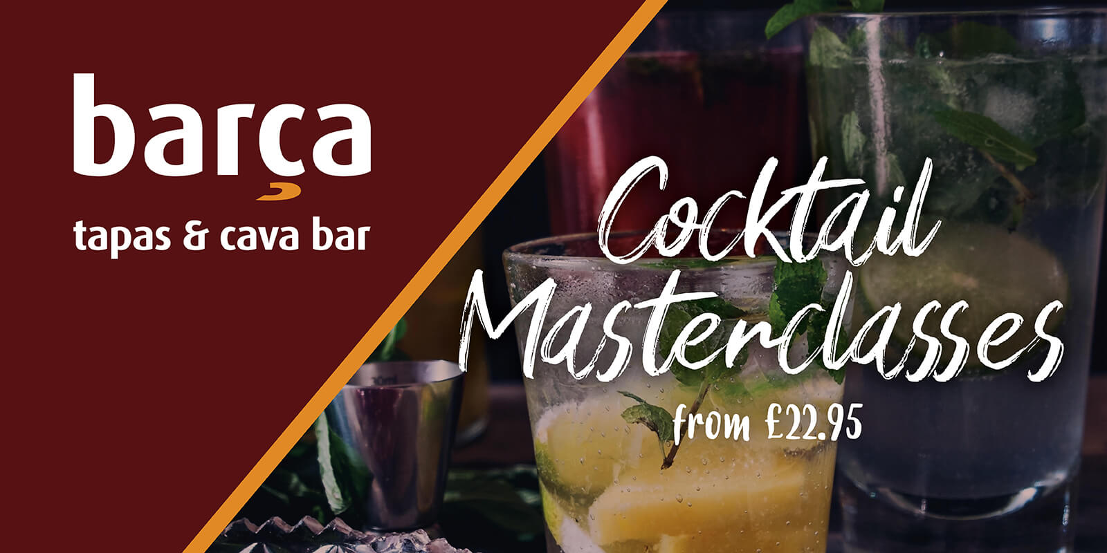 featured image - barca cocktail making masterclass