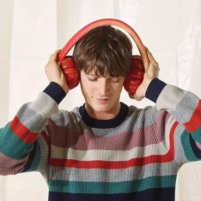 Ted Baker - guy with headphones on