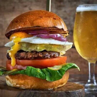 The Restaurant Bar and Grill burger